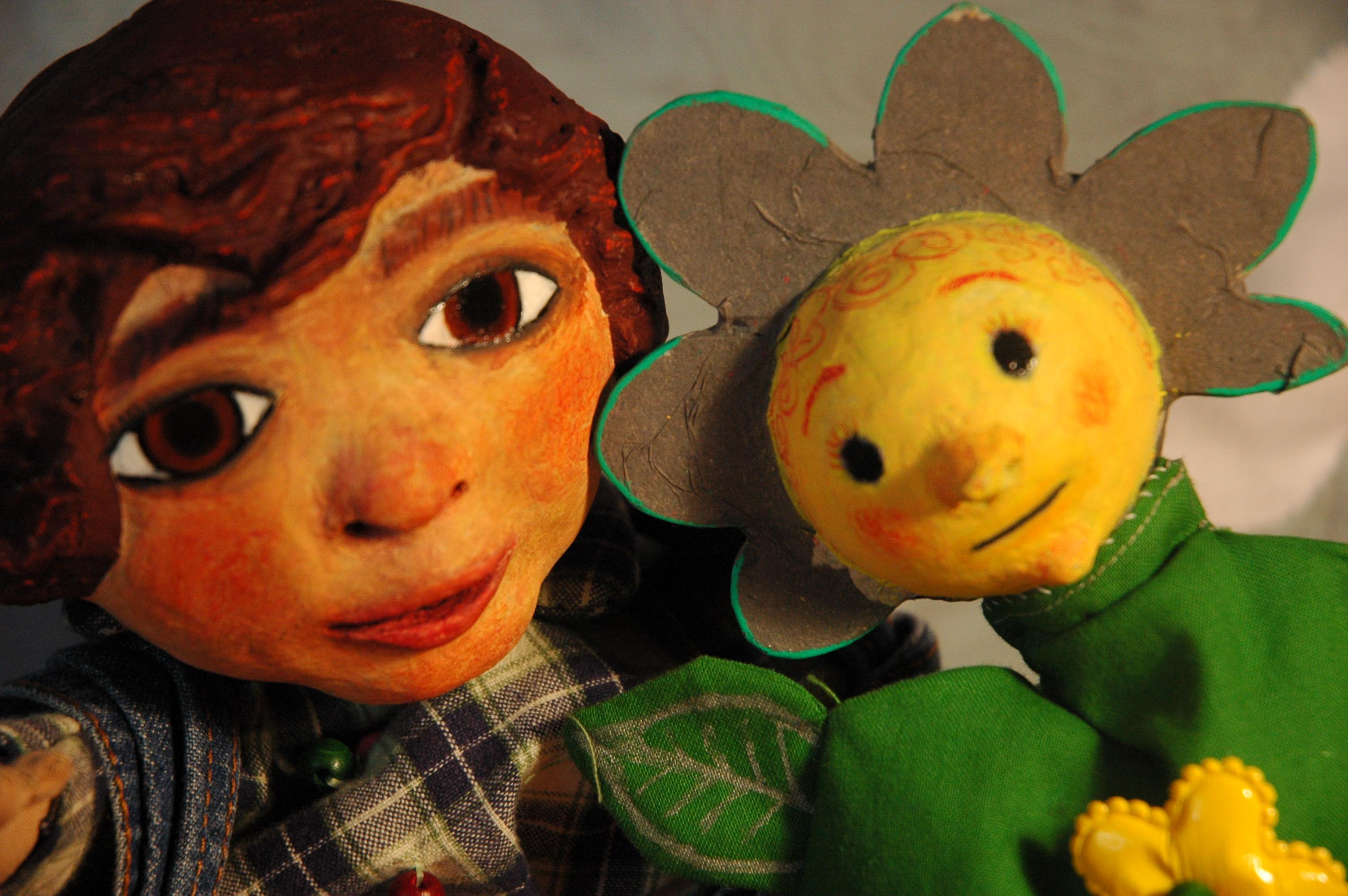 La soupe au caillou (Marionnettes du marché)