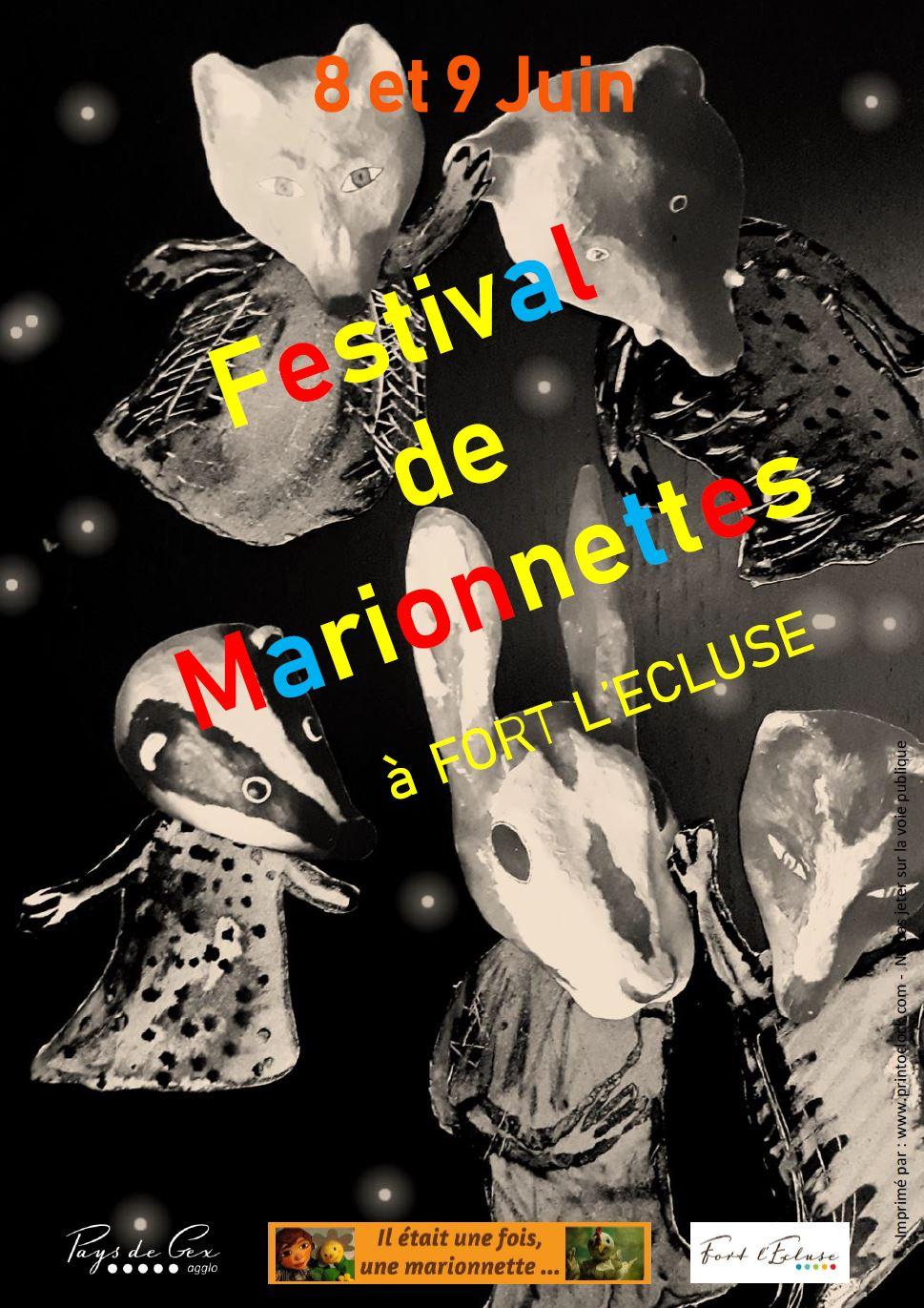 Festival de Marionnette à Fort l'Ecluse
