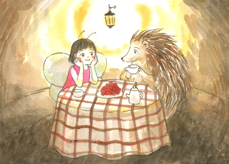 Les histoires d'amour (Kamishibaï du marché)